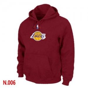 Los Angeles Lakers Rouge Sweat à capuche d'équipe de NBA en ligne - pour Homme