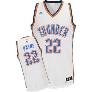 Maillot NBA Oklahoma City Thunder #22 Cameron Payne Blanc Adidas Swingman Home - Homme