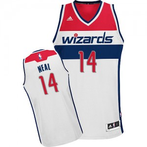 Maillot NBA Swingman Gary Neal #14 Washington Wizards Home Blanc - Homme