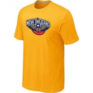 T-Shirts Jaune Big & Tall New Orleans Pelicans - Homme