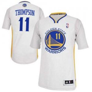 Golden State Warriors Klay Thompson #11 Alternate Authentic Maillot d'équipe de NBA - Blanc pour Femme