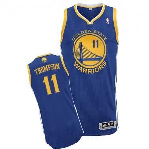 Maillot Authentic Golden State Warriors NBA Road Bleu royal - #11 Klay Thompson - Femme