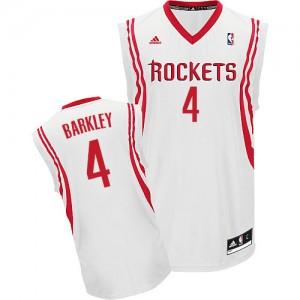 Maillot NBA Swingman Charles Barkley #4 Houston Rockets Home Blanc - Homme