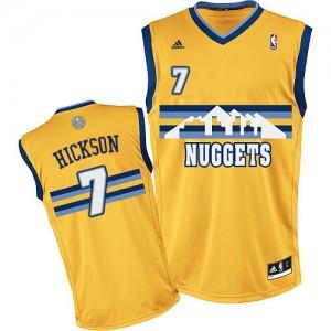 Maillot Adidas Or Alternate Swingman Denver Nuggets - JJ Hickson #7 - Homme
