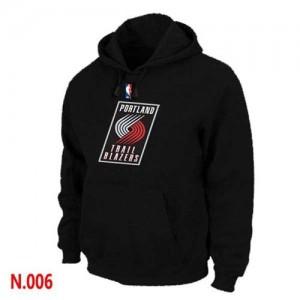 Sweat à capuche NBA Portland Trail Blazers Noir - Homme