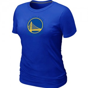 T-Shirts NBA Golden State Warriors Big & Tall Bleu - Femme