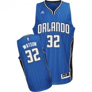 Maillot NBA Orlando Magic #32 C.J. Watson Bleu royal Adidas Swingman Road - Homme