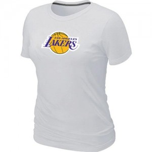 T-Shirts NBA Los Angeles Lakers Big & Tall Blanc - Femme