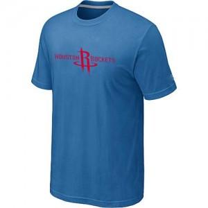 T-shirt principal de logo Houston Rockets NBA Big & Tall Bleu clair - Homme