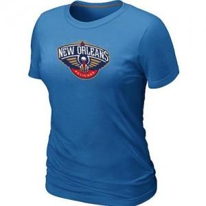 T-Shirts Bleu clair Big & Tall New Orleans Pelicans - Femme