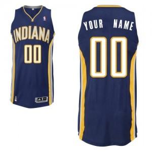 Indiana Pacers Authentic Personnalisé Road Maillot d'équipe de NBA - Bleu marin pour Enfants
