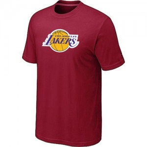T-Shirts Rouge Big & Tall Los Angeles Lakers - Homme