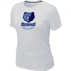 T-Shirts NBA Blanc Memphis Grizzlies Big & Tall Femme