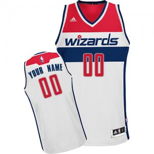 Maillot NBA Swingman Personnalisé Washington Wizards Home Blanc - Enfants
