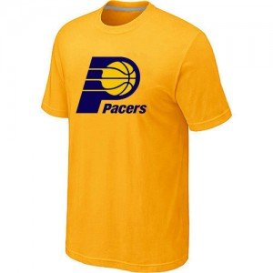 T-Shirts NBA Indiana Pacers Big & Tall Jaune - Homme