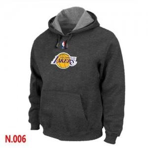 Sweat à capuche NBA Gris foncé Los Angeles Lakers Homme