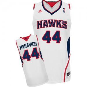 Maillot NBA Swingman Pete Maravich #44 Atlanta Hawks Home Blanc - Homme