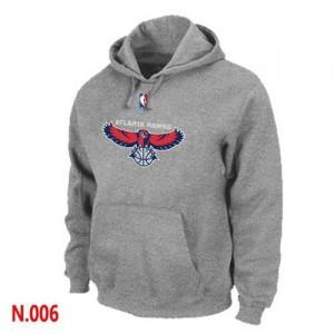 Sweat à capuche NBA Atlanta Hawks Gris - Homme