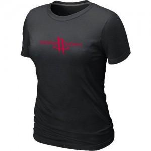 T-shirt principal de logo Houston Rockets NBA Big & Tall Noir - Femme