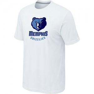 T-Shirts NBA Memphis Grizzlies Blanc Big & Tall - Homme