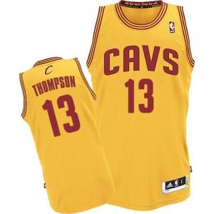 Cleveland Cavaliers Tristan Thompson #13 Alternate Authentic Maillot d'équipe de NBA - Or pour Homme