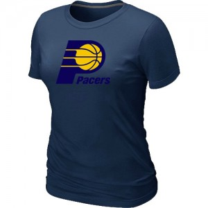 T-Shirts NBA Indiana Pacers Marine Big & Tall - Femme