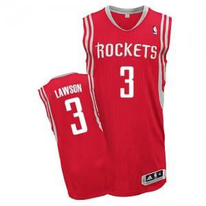 Houston Rockets #3 Adidas Road Rouge Authentic Maillot d'équipe de NBA Discount - Ty Lawson pour Homme