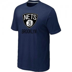 T-Shirts NBA Brooklyn Nets Marine Big & Tall - Homme