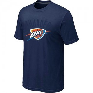 Oklahoma City Thunder Big & Tall Marine T-Shirts d'équipe de NBA Soldes discount - pour Homme