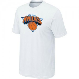 T-Shirts NBA New York Knicks Blanc Big & Tall - Homme