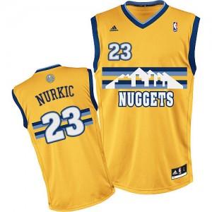 Denver Nuggets #23 Adidas Alternate Or Swingman Maillot d'équipe de NBA en vente en ligne - Jusuf Nurkic pour Homme