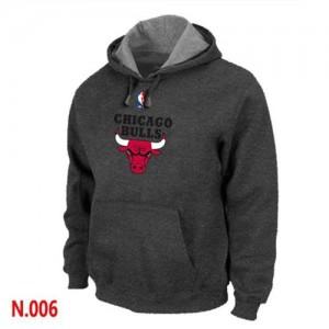 Sweat à capuche Noir Chicago Bulls - Homme