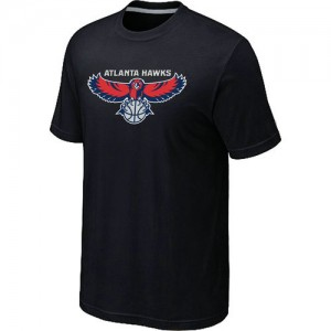 T-Shirts Noir Big & Tall Atlanta Hawks - Homme
