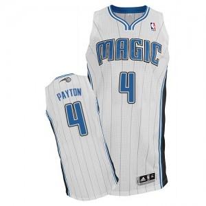 Maillot Authentic Orlando Magic NBA Home Blanc - #4 Elfrid Payton - Homme