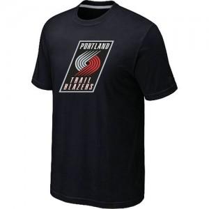 T-Shirts Noir Big & Tall Portland Trail Blazers - Homme