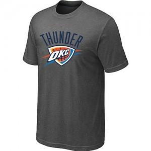 T-Shirts NBA Oklahoma City Thunder Gris foncé Big & Tall - Homme