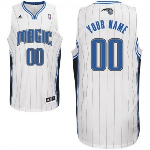 Maillot NBA Orlando Magic Personnalisé Swingman Blanc Adidas Home - Homme