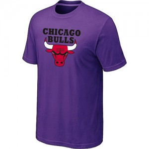 T-Shirts Violet Big & Tall Chicago Bulls - Homme
