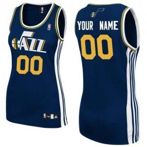 Maillot Utah Jazz NBA Road Bleu marin - Personnalisé Authentic - Femme