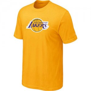 T-Shirts Jaune Big & Tall Los Angeles Lakers - Homme