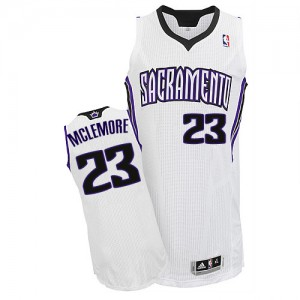 Maillot NBA Blanc Ben McLemore #23 Sacramento Kings Home Authentic Homme Adidas