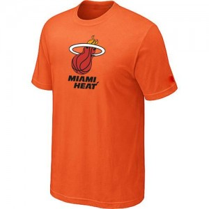 T-Shirts Orange Big & Tall Miami Heat - Homme
