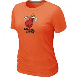 Miami Heat Big & Tall Orange T-Shirts d'équipe de NBA en vente en ligne - pour Femme