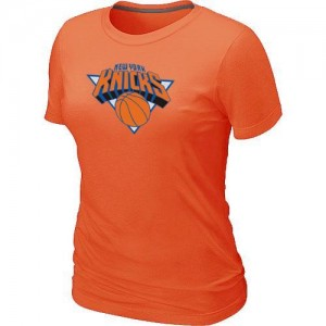 T-Shirts NBA Orange New York Knicks Big & Tall Femme