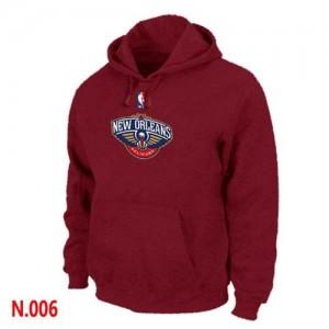 Pullover Sweat à capuche New Orleans Pelicans NBA Rouge - Homme