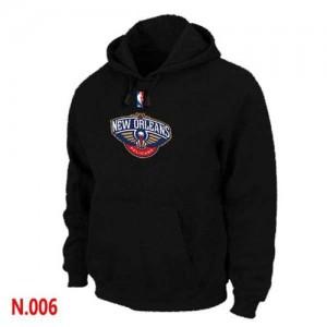 New Orleans Pelicans Sweat à capuche d'équipe de NBA - Noir pour Homme