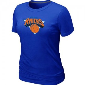 T-Shirts NBA Bleu New York Knicks Big & Tall Femme
